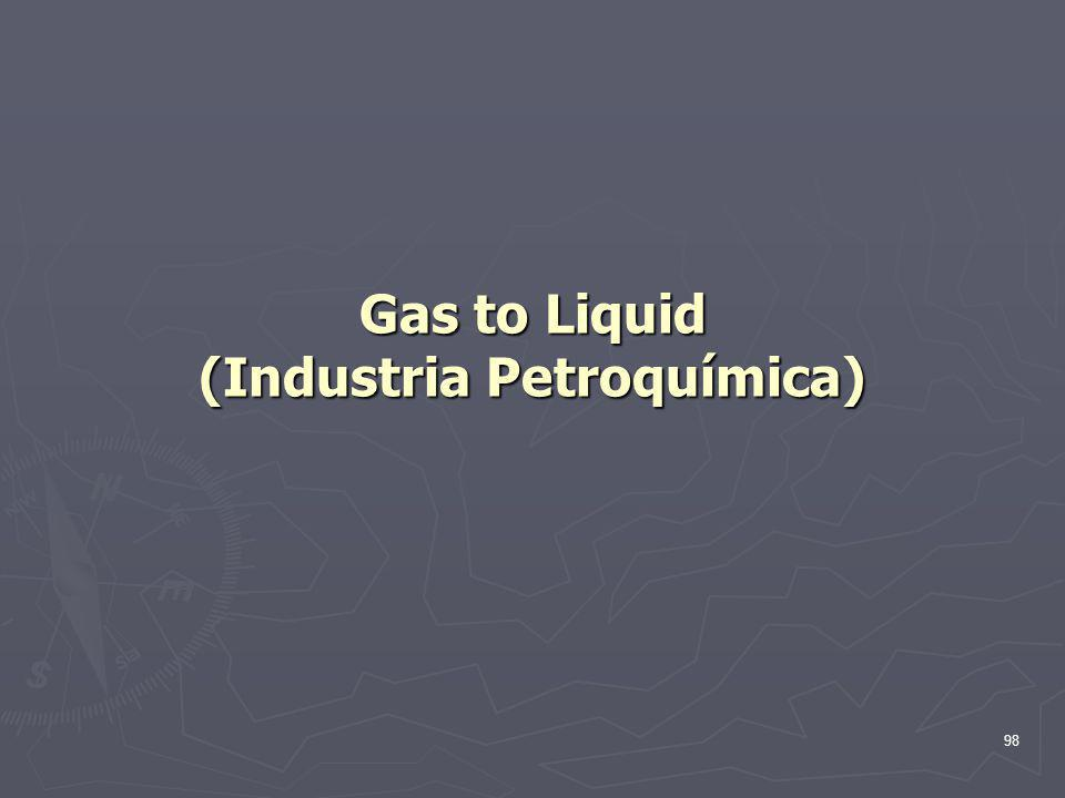 98 Gas to Liquid (Industria Petroquímica)
