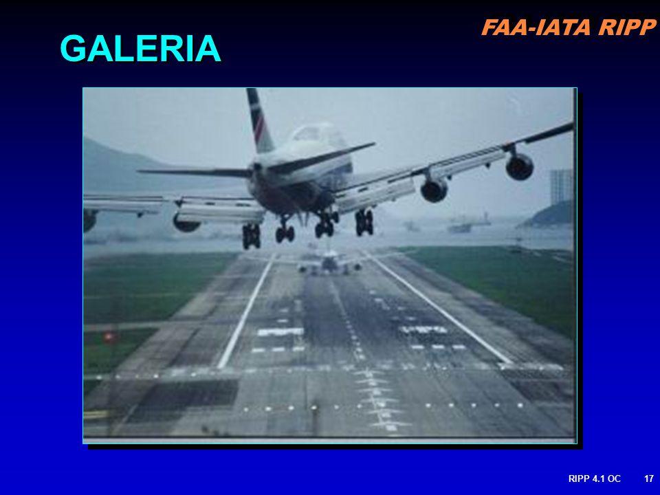 FAA-IATA RIPP RIPP 4.1 OC17 GALERIA