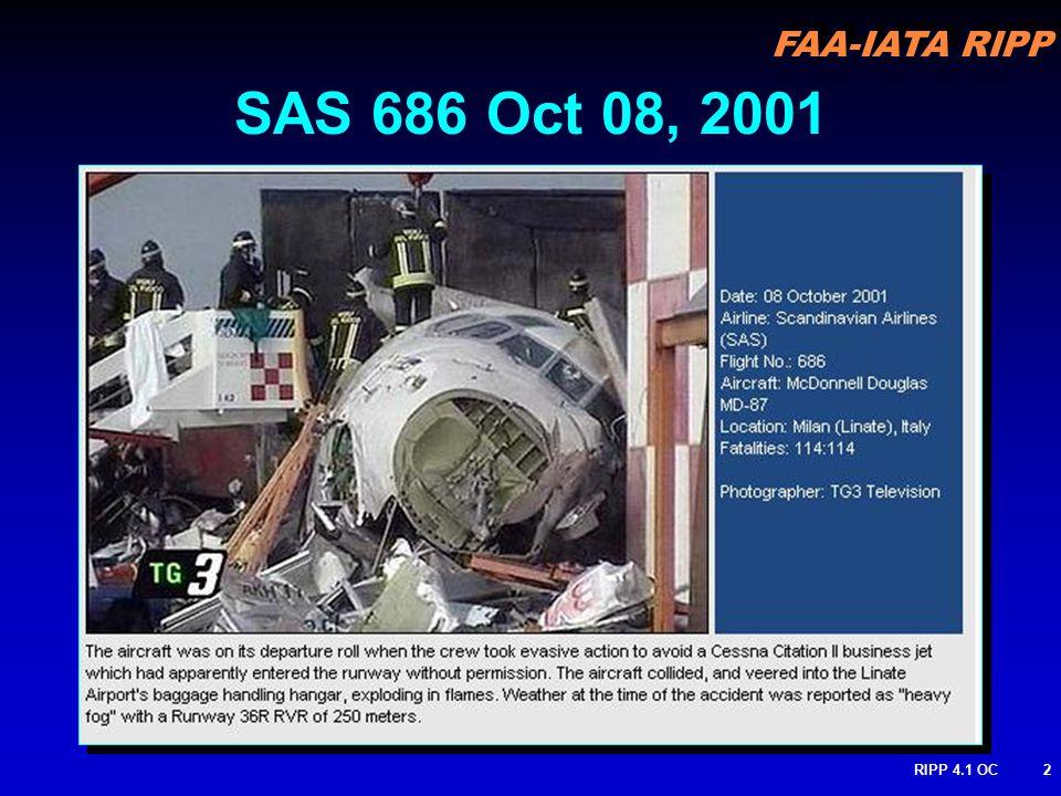 FAA-IATA RIPP RIPP 4.1 OC2 SAS 686 Oct 08, 2001