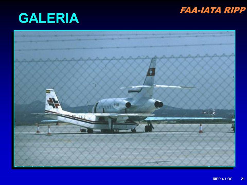 FAA-IATA RIPP RIPP 4.1 OC21 GALERIA