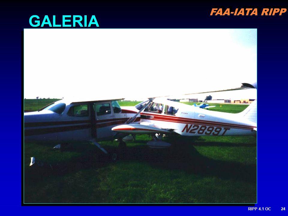 FAA-IATA RIPP RIPP 4.1 OC24 GALERIA