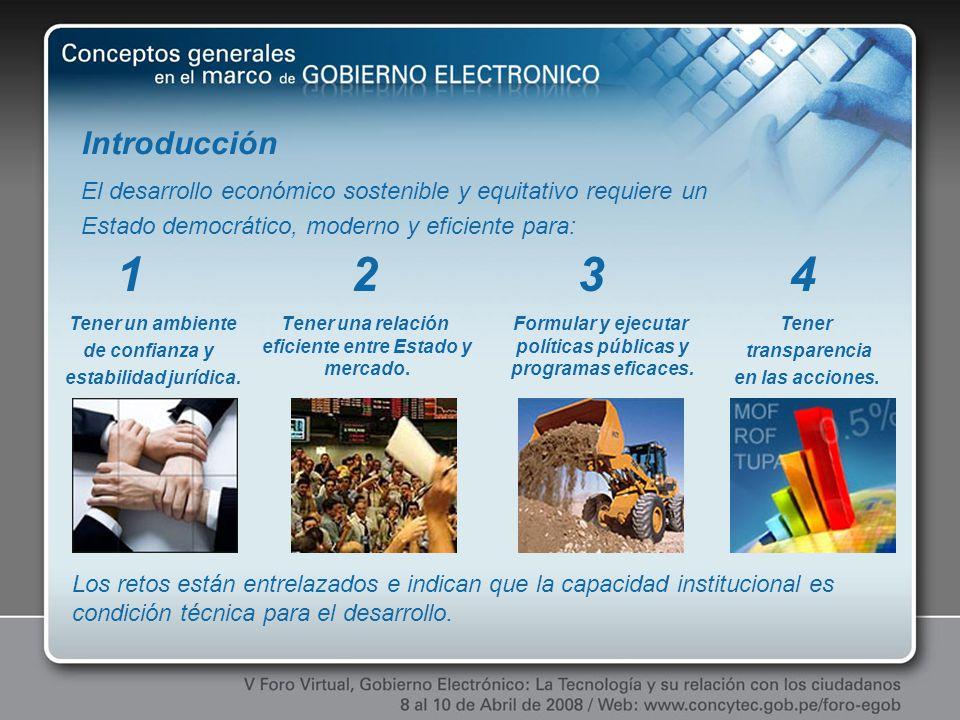 Referencias Plan de Desarrollo de la Sociedad de la Información en el Perú, CODESI Estrategia Nacional de Gobierno Electrónico del Perú, ONGEI La Necesidad de Teoría(s) sobre Gobierno Electrónico.