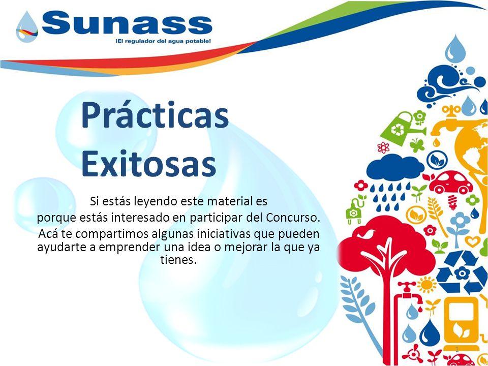Prácticas Exitosas 1 Si estás leyendo este material es porque estás interesado en participar del Concurso.