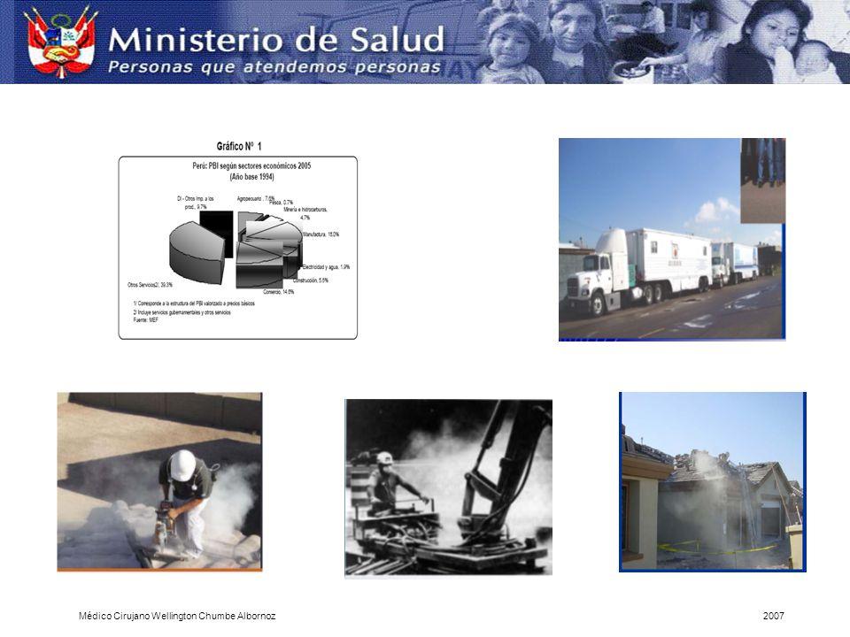 Programa de Estadísticas y Estudios Laborales del MTPE Médico Cirujano Wellington Chumbe Albornoz2007