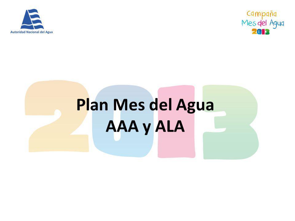 Plan Mes del Agua AAA y ALA