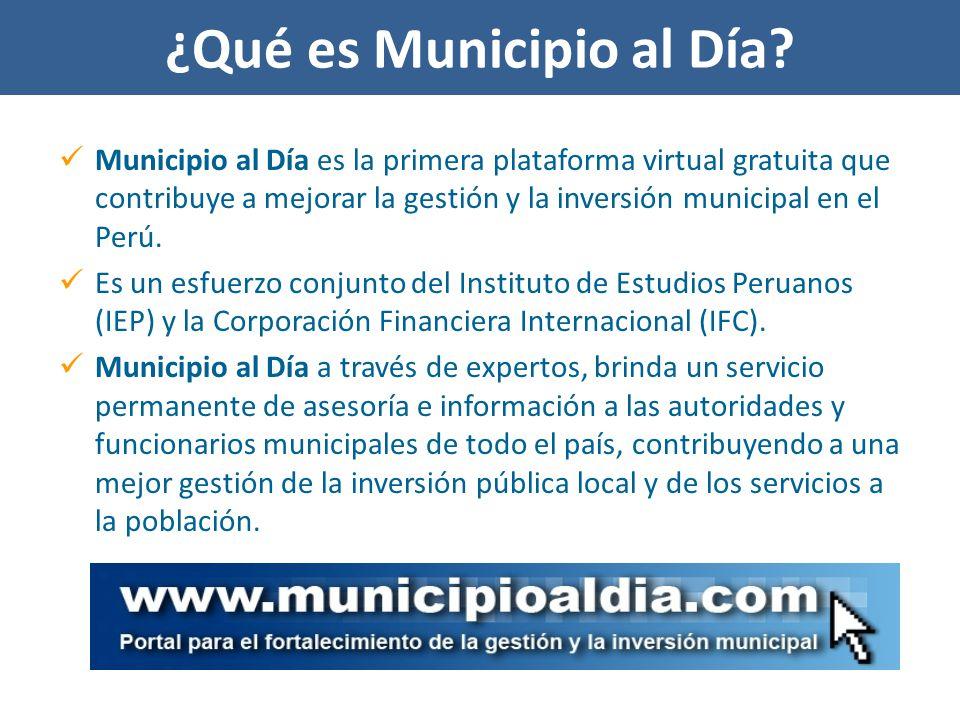 ¿Qué es Municipio al Día.