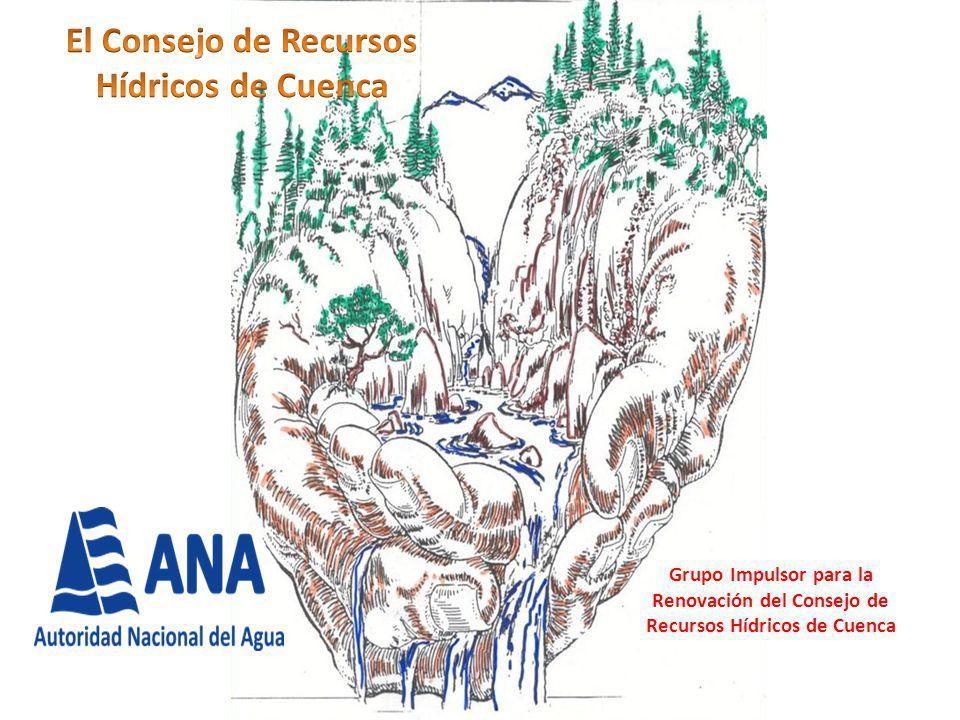 Grupo Impulsor para la Renovación del Consejo de Recursos Hídricos de Cuenca