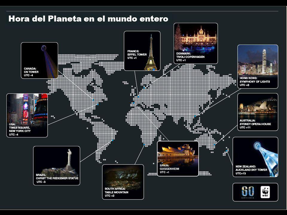 Hora del Planeta en el mundo entero