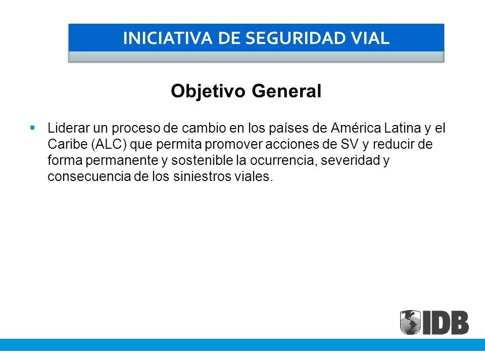 Liderar un proceso de cambio en los países de América Latina y el Caribe (ALC) que permita promover acciones de SV y reducir de forma permanente y sos