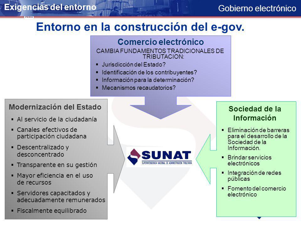 Gobierno electrónico Evaluación PlanesOperativosInformátticosPlanesOperativosInformátticos Estudio de Impacto Estudio de Impacto TICs en el Perú Perú