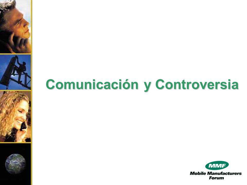 Desafíos de la Definición de Estándares El gobierno y la industria deben actuar en cooperación explicando a la población la seguridad de los estándares definidos (comunicación!).