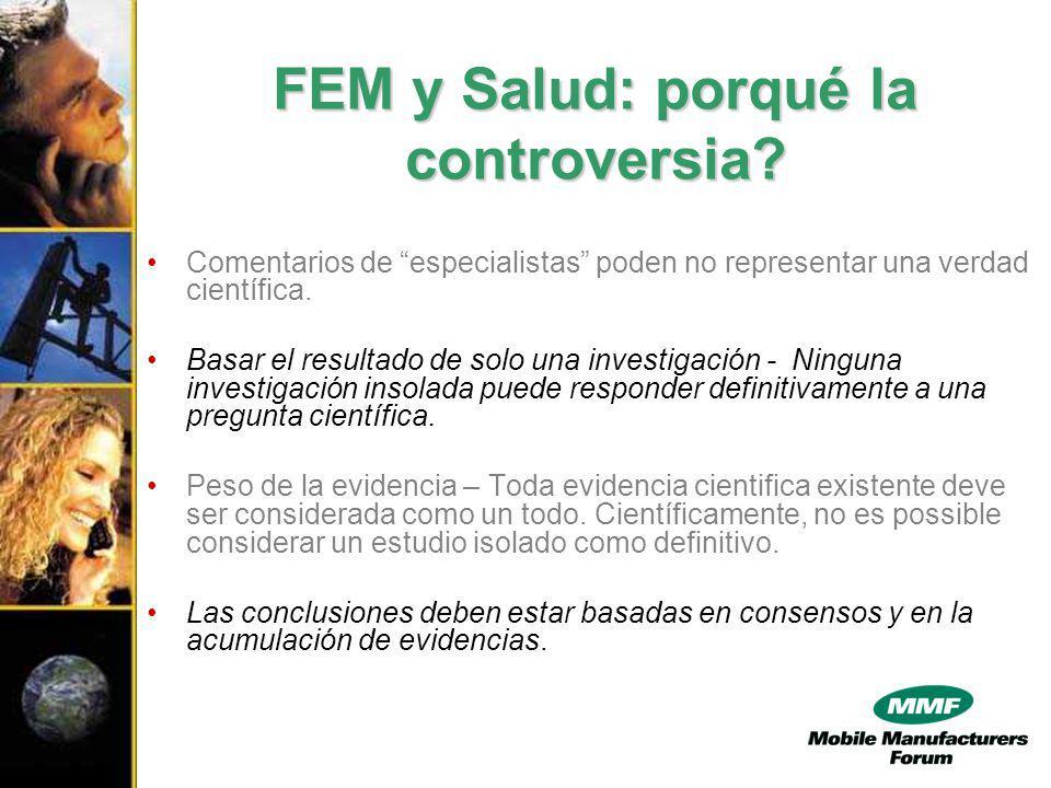 FEM y Salud: porqué la controversia.