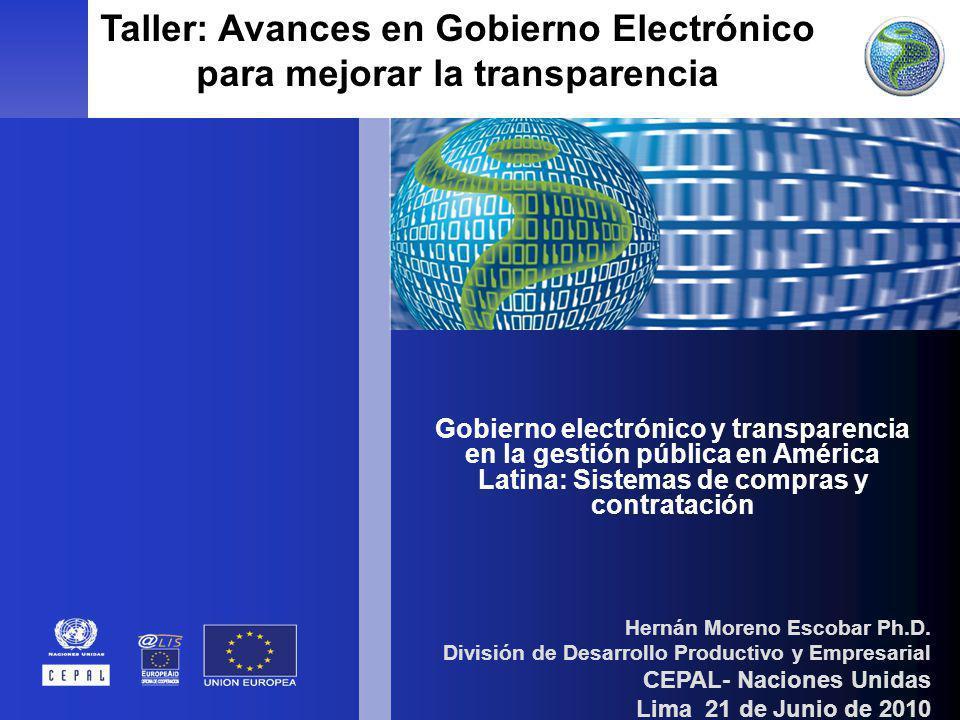 1 Unidad de Innovación y Tecnología DDPE - CEPAL Hernán Moreno Escobar Ph.D. División de Desarrollo Productivo y Empresarial CEPAL- Naciones Unidas Li