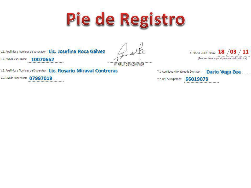 Lic.Josefina Roca Gálvez 10070662 Lic.