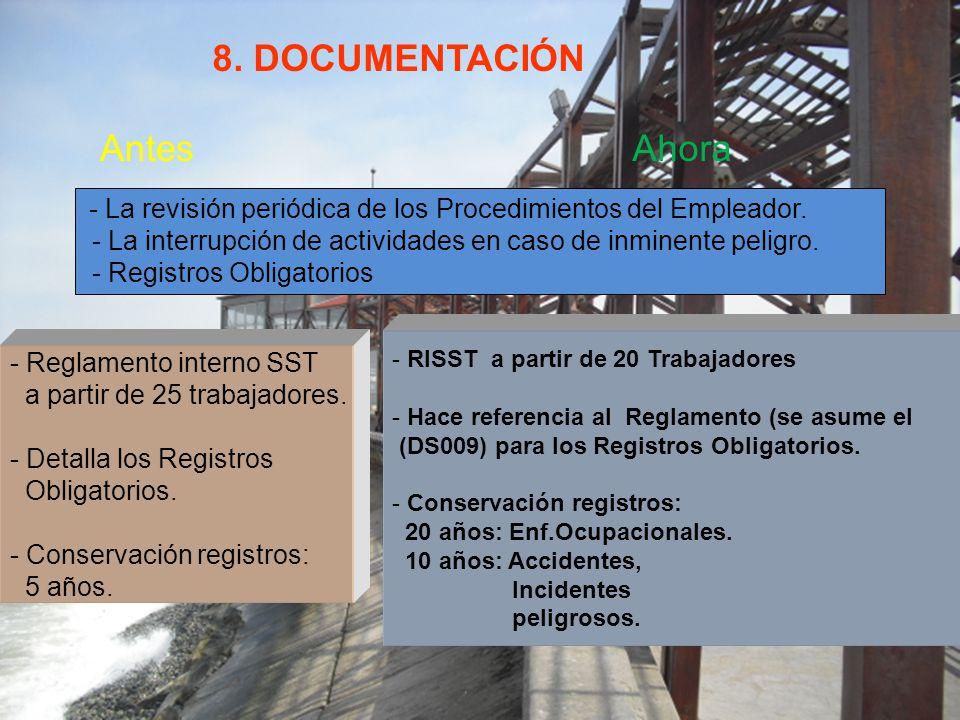 8.DOCUMENTACIÓN AntesAhora - Reglamento interno SST a partir de 25 trabajadores.