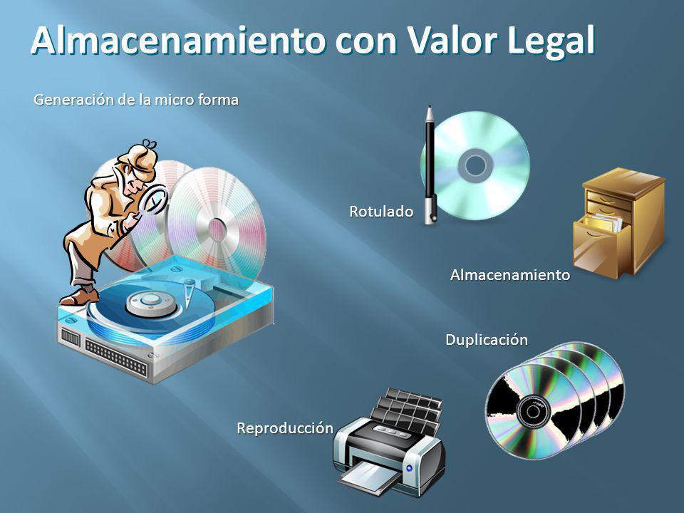 Un documento puede almacenarse en el disco de un servidor, SAN, NAS.