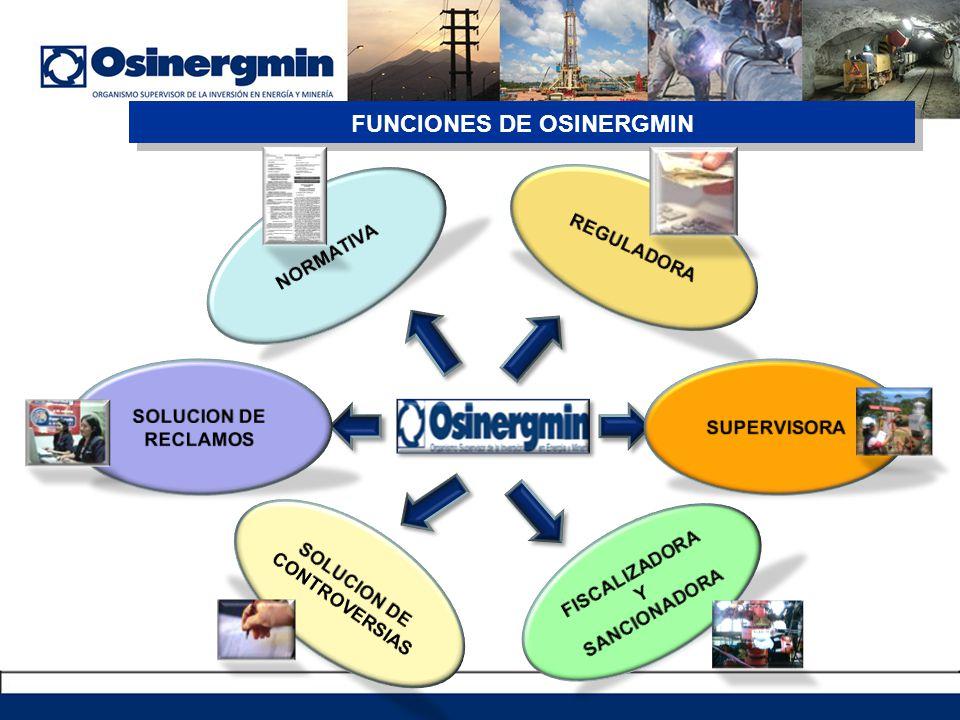 FUNCIONES DE OSINERGMIN