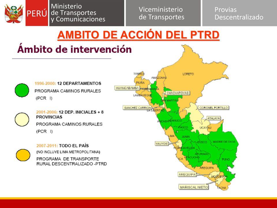AMBITO DE ACCIÓN DEL PTRD