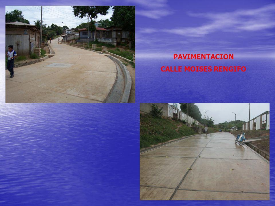 CONSTRUCCION IGLESIA MATRIZ CONTAMANA PAVIMENTACION CALLE ALBERTO ANGULO