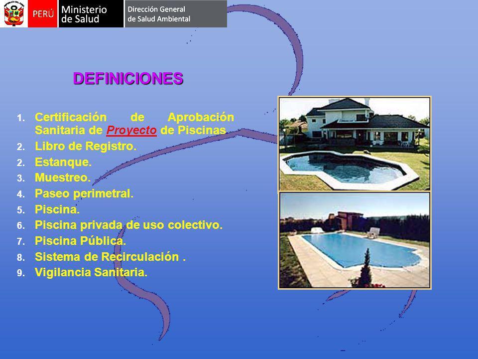 1.1. Certificación de Aprobación Sanitaria de Proyecto de Piscinas 2.