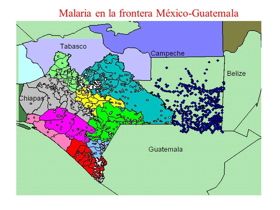 Malaria en la frontera México-Guatemala
