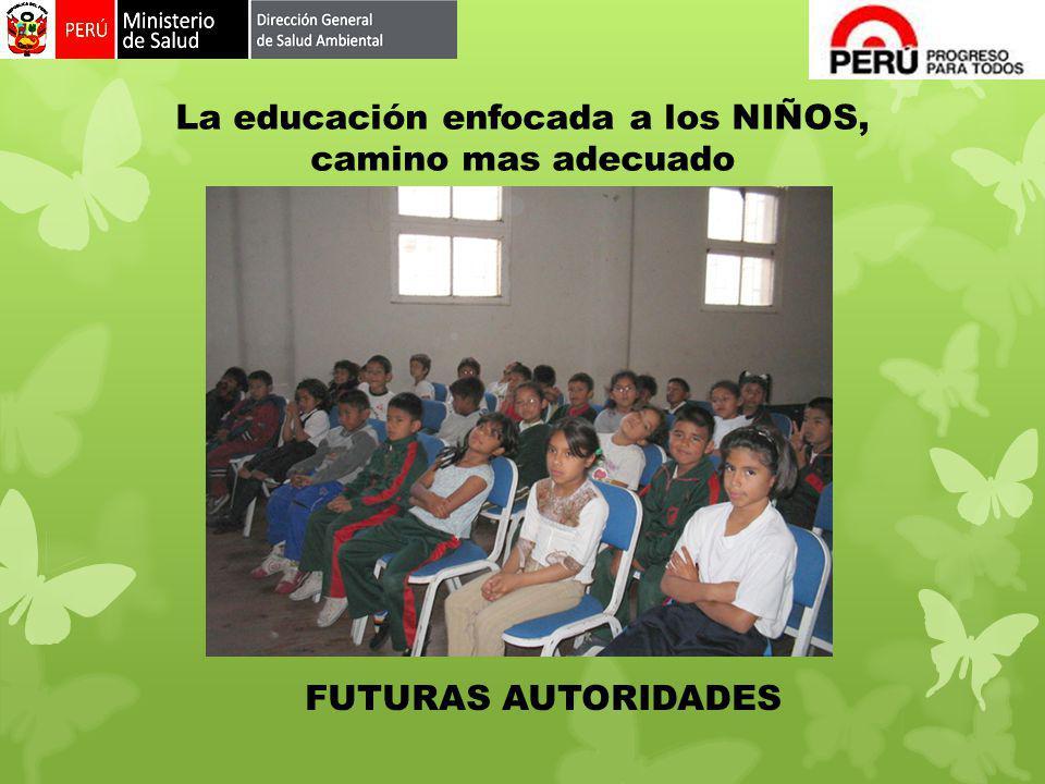 La educación enfocada a los NIÑOS, camino mas adecuado FUTURAS AUTORIDADES