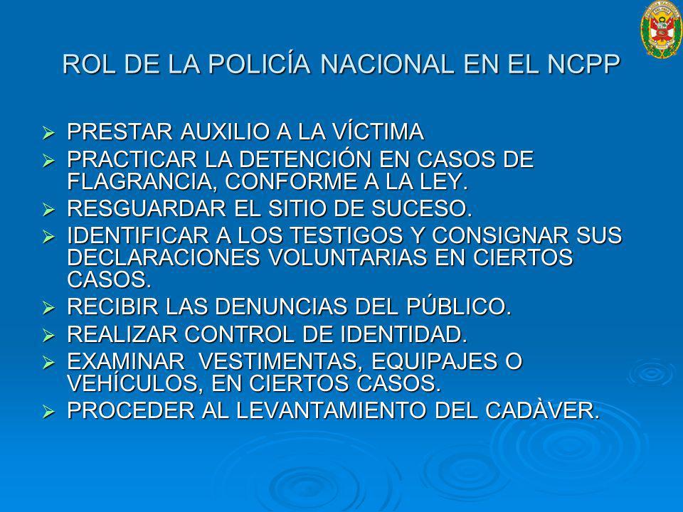 PRESTAR AUXILIO A LA VÍCTIMA PRESTAR AUXILIO A LA VÍCTIMA PRACTICAR LA DETENCIÓN EN CASOS DE FLAGRANCIA, CONFORME A LA LEY.
