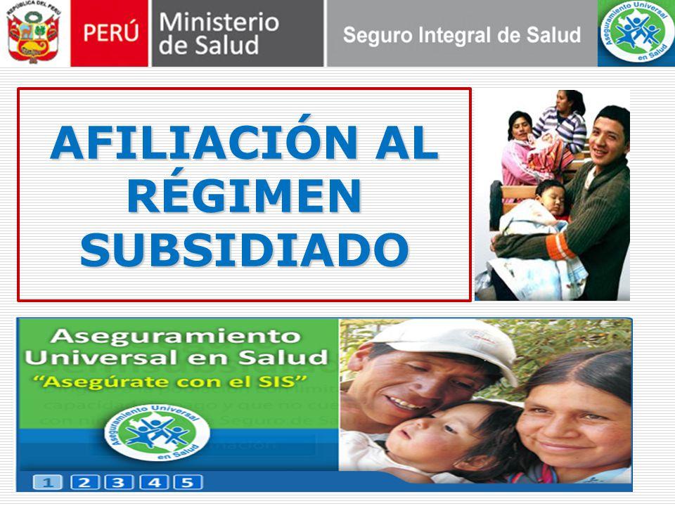 Grupo Objetivo Hombres y mujeres, sin límite de edad, de los Niveles Socioeconómicos C + D y determinados por el SISFOH, que trabajen de forma independiente o autónoma y que no cuenten con un seguro de salud.