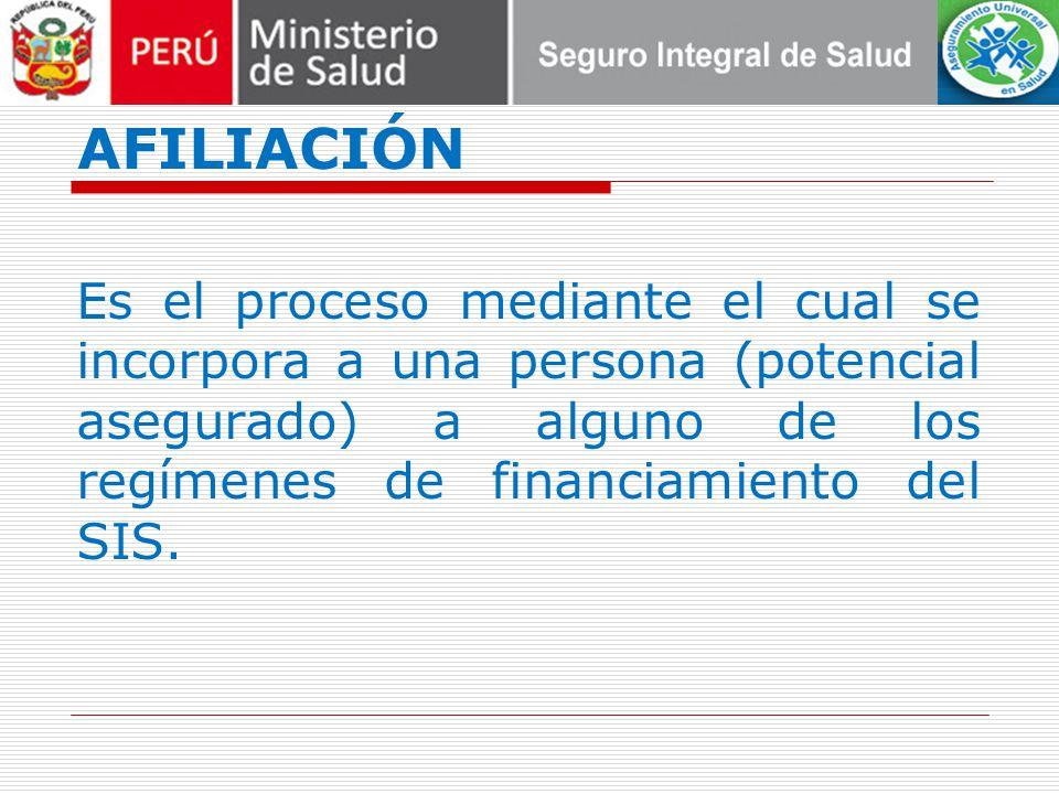 MÓDULO DE CONSULTAS DE CONDICIÓN DE ASEGURADO AUS