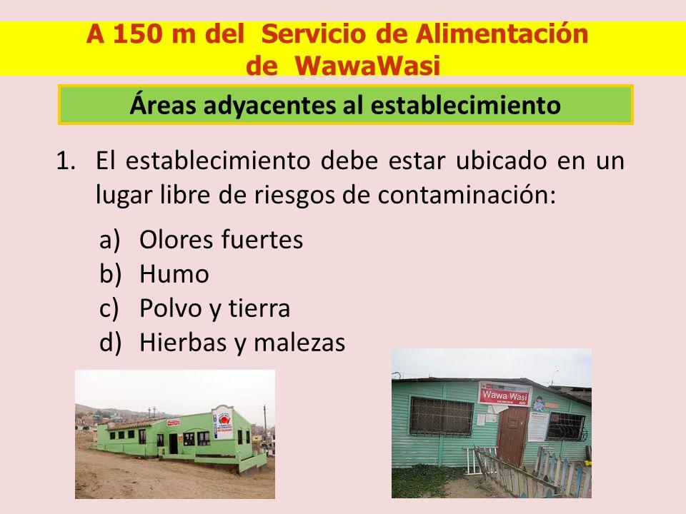 11.El lavadero debe estar operativo, construido de material adecuado y exclusivo para el lavado de alimentos y utensilios.