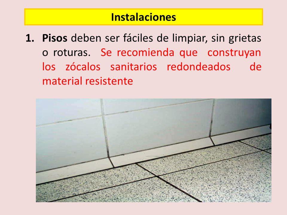 13.Debe evidenciarse un sistema de control de plagas (trampas, cebaderos EXTERNOS, puertas herméticas, etc.).