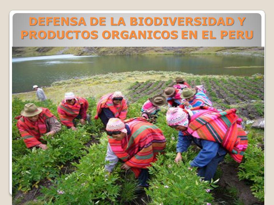 DEFENSA DE LA BIODIVERSIDAD Y PRODUCTOS ORGANICOS EN EL PERU NUTRY BODY SAC