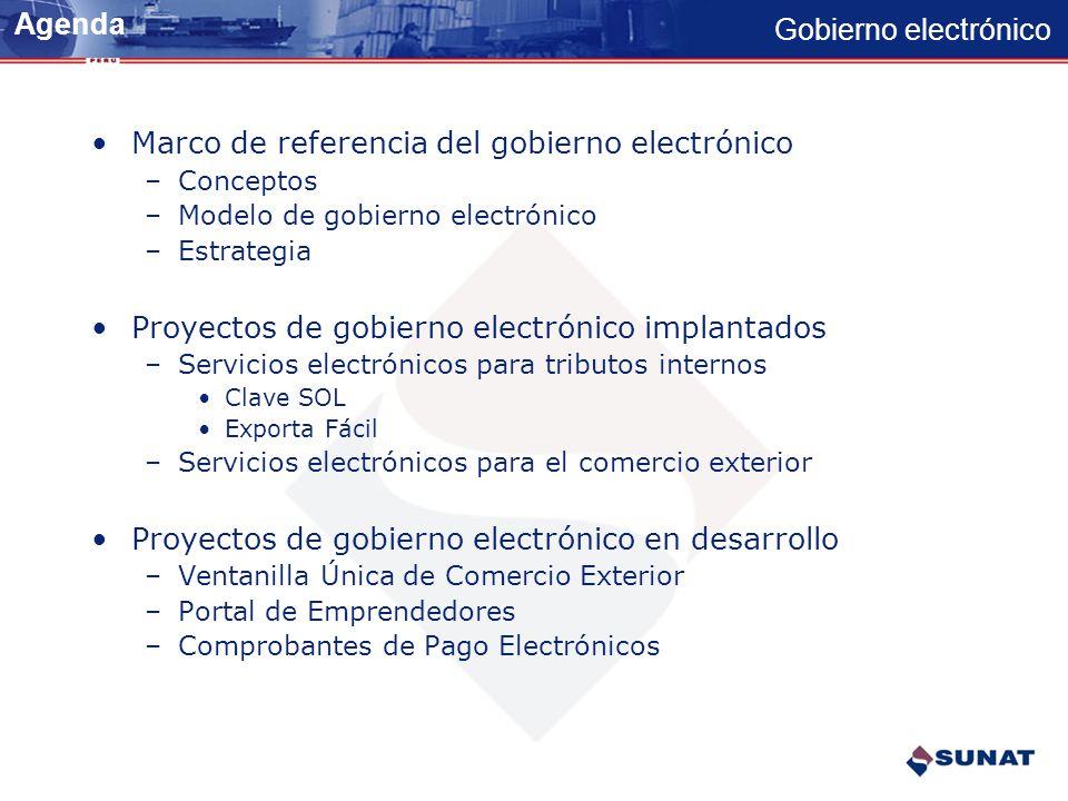 Gobierno electrónico Gobierno Electrónico