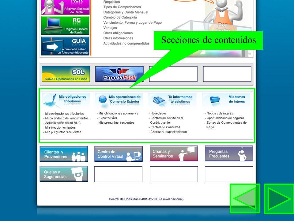 Gobierno electrónico Servicios en Linea