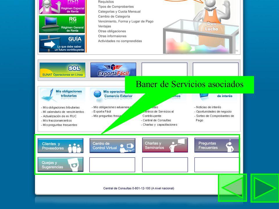 Gobierno electrónico Secciones de contenidos