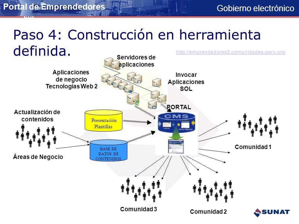 Consiste en una interfaz que controla una o varias bases de datos donde se aloja el contenido del portal.