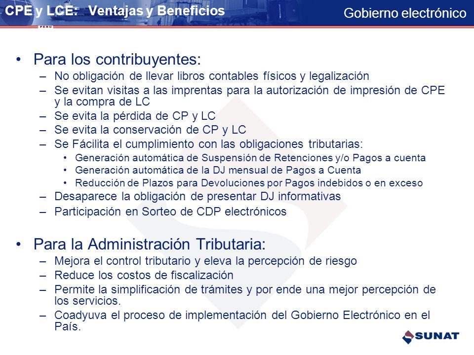 Gobierno electrónico Programa de Verificación de Libros Electrónicos - PVLE - Se instalará en las notebook de los auditores así como en las Entidades