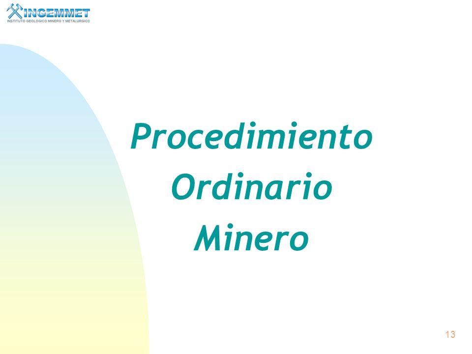12 Solicitud de un Derecho Minero Excelencia ambiental Respeto a instituciones, autoridades, cultura y costumbres locales Diálogo continuo y oportuno