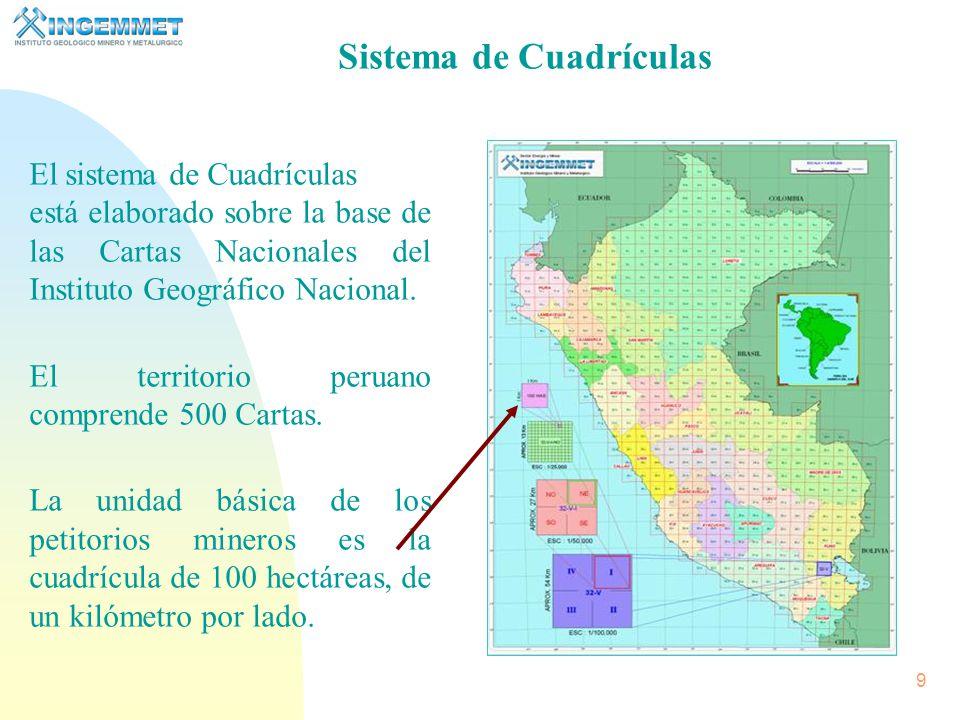 29 (DERECHOS MINEROS Y AREAS RESTRINGIDAS) Catastro Integrado