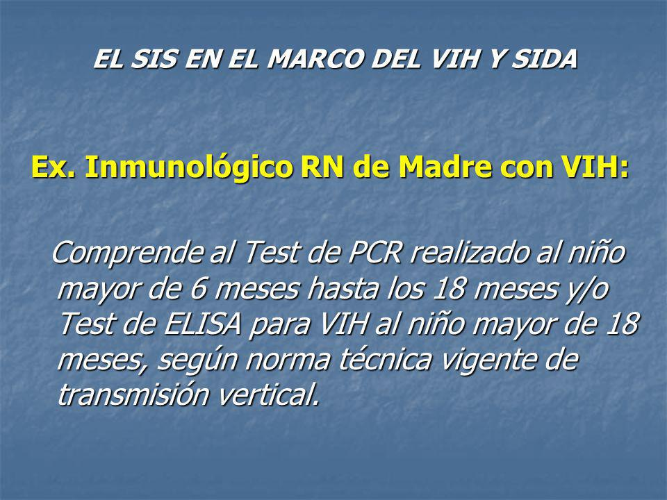 EL SIS EN EL MARCO DEL VIH Y SIDA Ex.Lab.