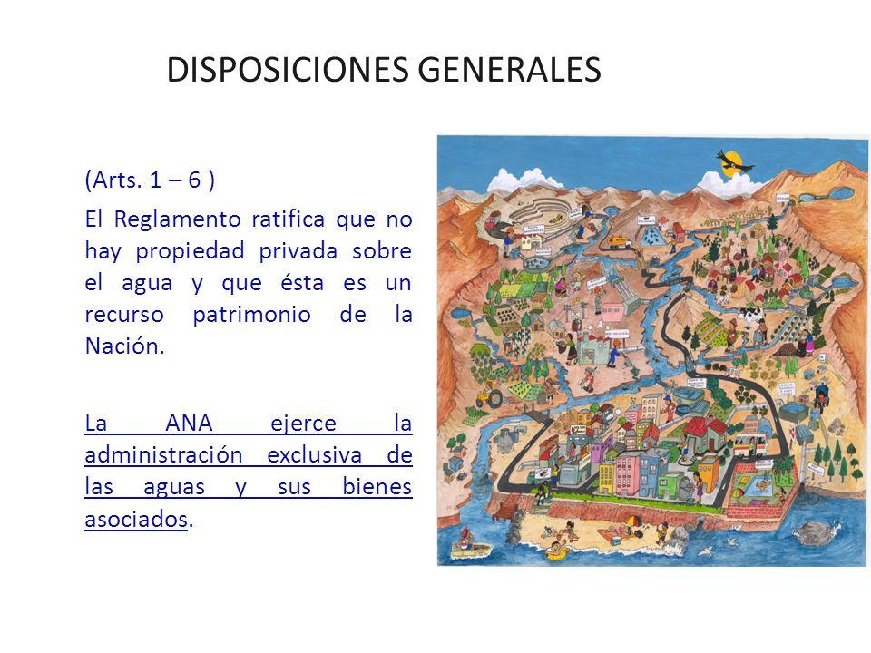 DISPOSICIONES GENERALES (Arts.