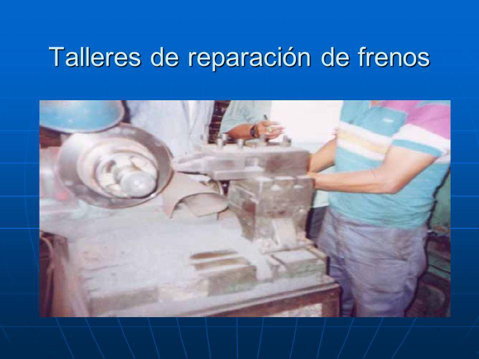 Talleres de reparación de frenos