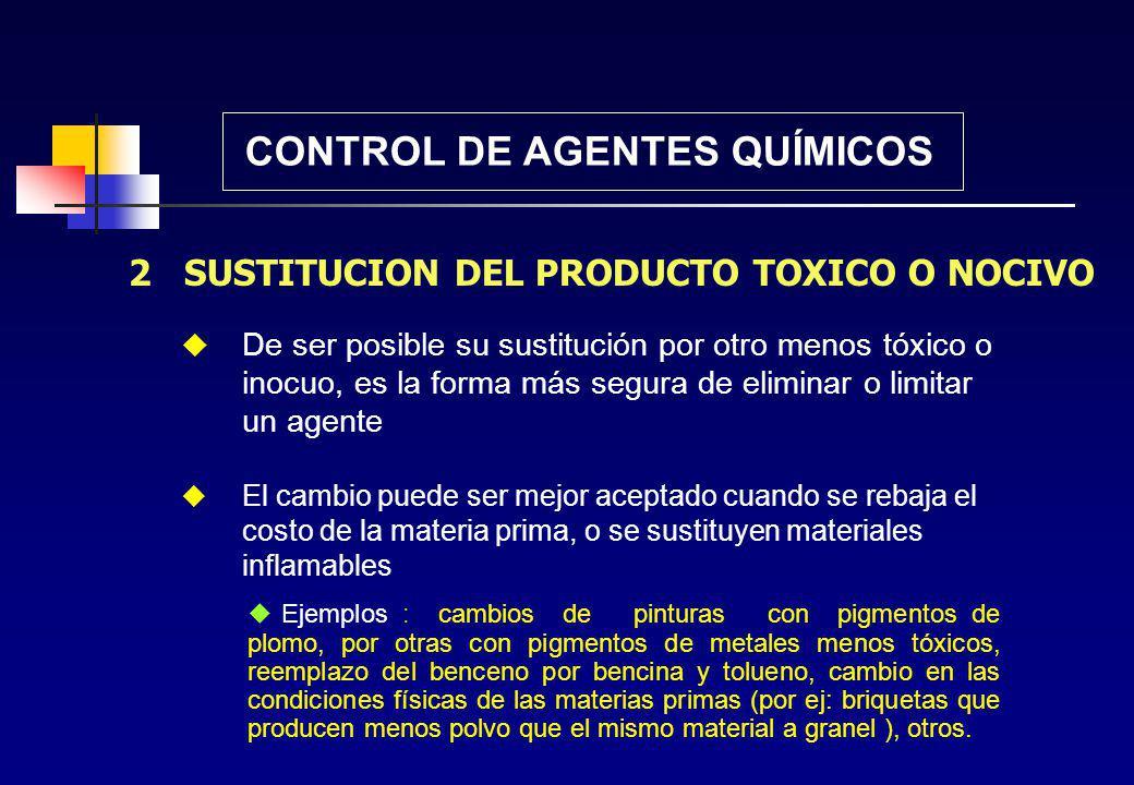 Planificación conjunta de los medios de prevención de agentes junto a los procesos de producción. Compra de maquinarias con los medios de captación o