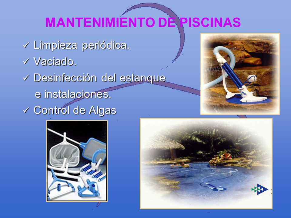FUNCIONES DE LA ENTIDAD ADMINISTRADORA Técnico Responsable Técnico Responsable Personal técnico capacitado para la operación, el cuidado y vigilancia de la piscina y sus servicios.