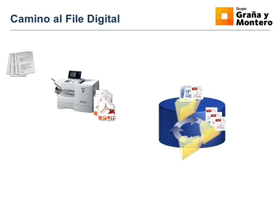 Camino al File Digital PDF
