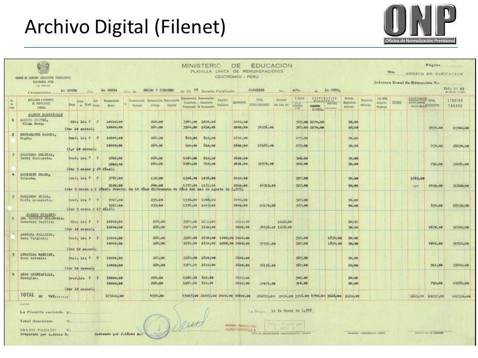 Archivo Digital (Filenet)