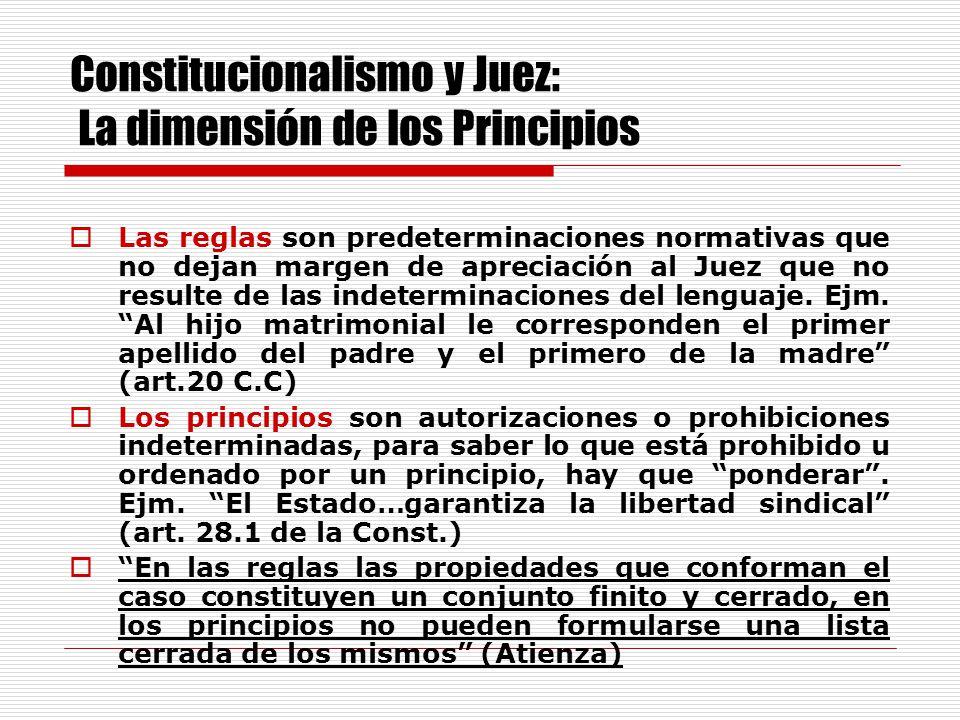 Frente a la crisis de la Ley y la incerteza de sus mensajes, el Juez se ha convertido en el centro de asignación de los derechos y de su defensa.