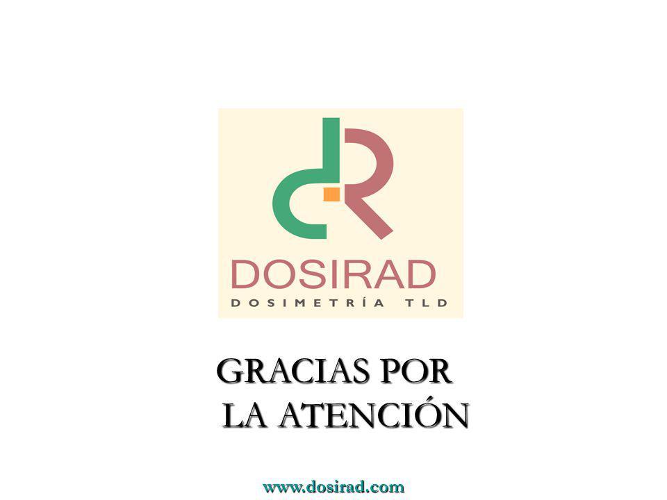 www.dosirad.com GRACIAS POR LA ATENCIÓN