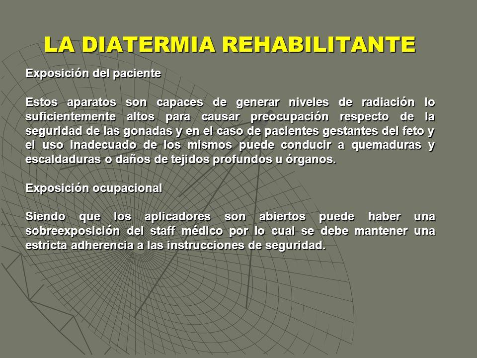 Exposición del paciente Estos aparatos son capaces de generar niveles de radiación lo suficientemente altos para causar preocupación respecto de la se