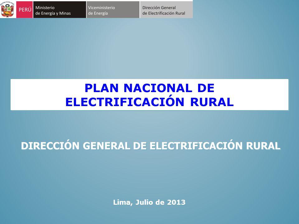 ÍNDICE 1.ANTECEDENTES 2. AVANCES EN LA ELECTRIFICACIÓN RURAL 3.